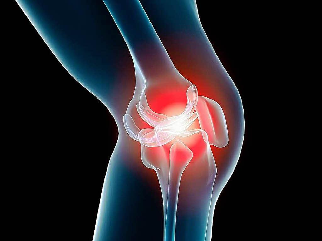 как вылечить отек колена