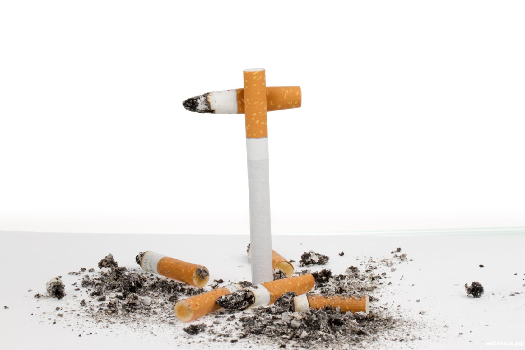 как избавиться от последствий курения