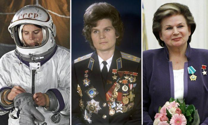 первый полет женщины в космос