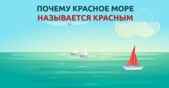 почему Красное море